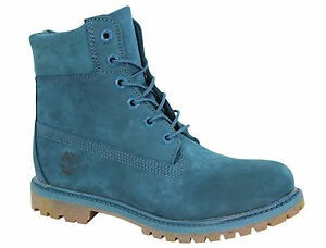 LICHIDARE STOC! Bocanci TIMBERLAND originali noi piele waterproof turquoise 40 foto