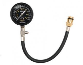 Manometru cu adaptor pentru masurat presiune compresie, YATO YT-7301