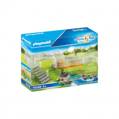Playmobil Family Fun - Platforma pentru vederea gradinii Zoo