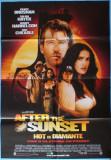 "Afisul filmului ""Hot de diamante"" cu Pierce Brosnan, Salma Hayek,Woody Harrelson"