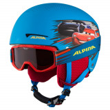Cumpara ieftin Set casca si ochelari Alpina Zupo Disney Cars