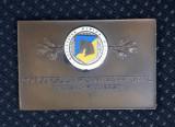 Placheta Concursul hipic international Bucuresti  medalie per. regalista hipica