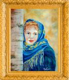 Acuarela portret tarancuta - tablou tablouri pictura picturi grafica
