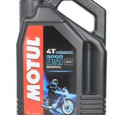 Motul ulei motor scuter moto 3000 4T 20W50 4L