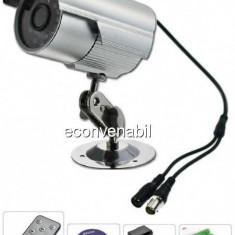 Camera Supraveghere Inregistrare Card TF, BNC, Telecomanda