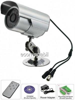 Camera Supraveghere Inregistrare Card TF, BNC, Telecomanda foto