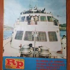 romania pitoreasca august 1984-art. baile herculane,felix,zalau,tulcea