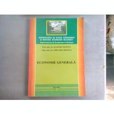 ECONOMIE GENERALA - DUMITRU HONTUS (CURS INVATAMANT LA DISTANTA)