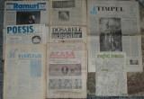 Ramuri,Moftul roman,Poesis,Timpul,Rasu lumii,Obiectiv,Acasa ziare anii 90