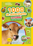 1000 de autocolante. La ferma/National Geographic Kids