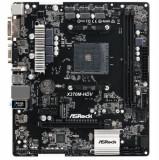 Placa de baza ASRock X370M-HDV, AM4, DDR4, Pentru AMD
