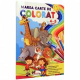 Marea carte de colorat 4-5 ani  , Aramis