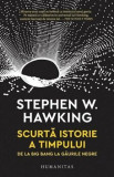 Scurta istorie a timpului. De la Big Bang la gaurile negre/Stephen Hawking