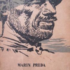 Morometii , 1961 - coperta ilustr. Perahim - Marin Preda