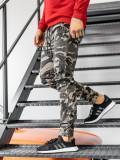 Cumpara ieftin Pantaloni de trening camuflaj-bej Bolf KA351