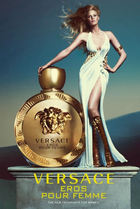 Versace Eros Pour Femme EDP 100ml pentru Femei fără de ambalaj