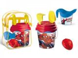 Set plaja Spiderman Mondo pentru copii cu ghiozdanel jucarii plaja si galetusa