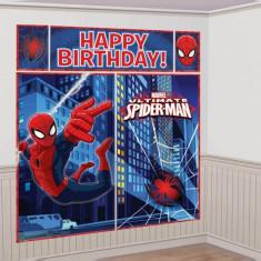 Decoratiuni Spiderman 1.80 m set 5 buc