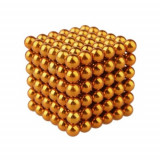 Puzzle Magnetic Neocube 216 bile magnetice 5mm Portocaliu