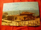 Ilustrata Mangalia - Muzeul de Arheologie circulat 1966