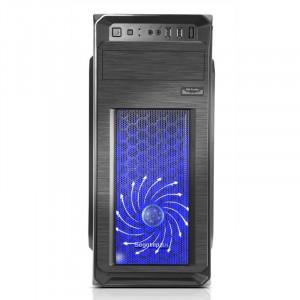 GARANTIE! PC Gaming Q9550 8GB DDR2 SSD 120GB 500GB HDD ATI HD 7350 1GB 64Bit