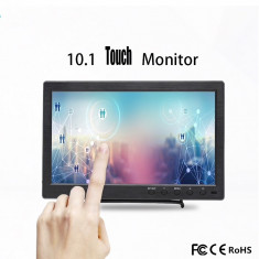 Monitor Portabil 10.1 Inch 1920x1080 IPS 1080P touch AV/VGA/HDMI/USB/Speaker