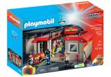 Playmobil City Action - Set mobil statie de pompieri