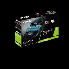 Placa video asus dual-gtx1660ti-o6g gtx gtx1660 ti oc 6g gddr6 cuda core 1536 memory clock