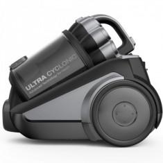 Aspirator fara sac Daewoo RCC-250B/3A, Putere 800 W, Capacitate 3 L, Filtru Hepa, Compact, Negru