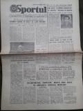 Ziarul Sportul din 16 iulie 1982