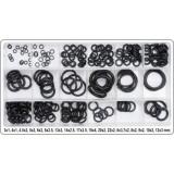 Set garnituri tip O-ring pentru lichid/ulei 222 piese