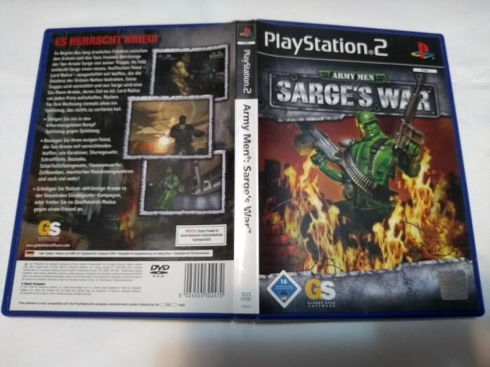 [PS2] Army Men : Sarge's War - joc original Playstation 2
