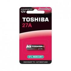 Baterie Toshiba alcalina 27A 12V 1 Bucata /Set