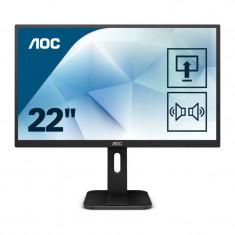Monitor LED AOC 22P1D 21.5 inch 2ms Black
