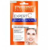 Cumpara ieftin Masca de fata, Eveline Cosmetics, Expert C, Peeling pentru regenerare, 10 ml