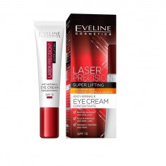 Crema de ochi, Eveline Cosmetics, Laser Precision Super Lifting, SPF 10, 15 ml