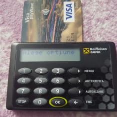 CITITOR DE CARD BANCAR GEMALTO RAIFFESISEN BANK IMPECABIL