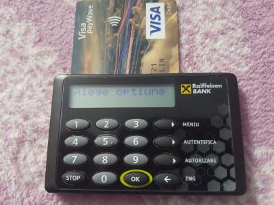 CITITOR DE CARD BANCAR GEMALTO RAIFFESISEN BANK IMPECABIL foto