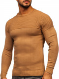 Pulover maro bărbați Bolf 4623
