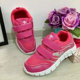 Cumpara ieftin Adidasi roz cu scai pt fetite pantofi sport foarte usori 30 31 32 33 34 35, Fete