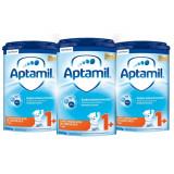 Lapte praf Aptamil Junior 1+, 3 pachete x 800 g