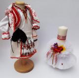 Cumpara ieftin Set Traditional Botez - Costumas fetita Lumanare 6