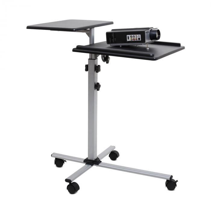 FrontStage AUNA, masă pentru proiector / Beamer TS-2, reglabil pe 2 înălțimi