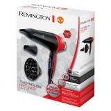 Uscator de par Remington Manchester United Thermacare, 2400 W, 2 Viteze, 3 Trepte de temperatura, Ceramic