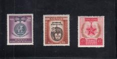 ROMANIA 1952  LP 296  ZIUA  INTERNATIONALA  A FEMEII   SERIE  MNH foto