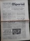 Ziarul Sportul din 15 iulie 1982