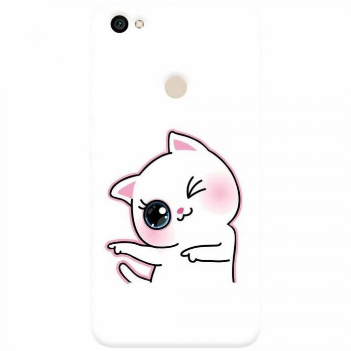 Husa silicon pentru Xiaomi Redmi Note 5A, Cute Kitty