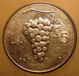 1.786 ITALIA STRUGURI 5 LIRE 1950