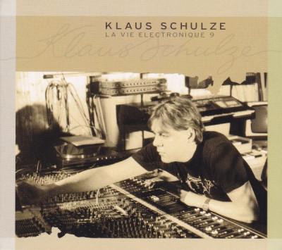3 CD Klaus Schulze – La Vie Electronique 9 , originale, holograma foto