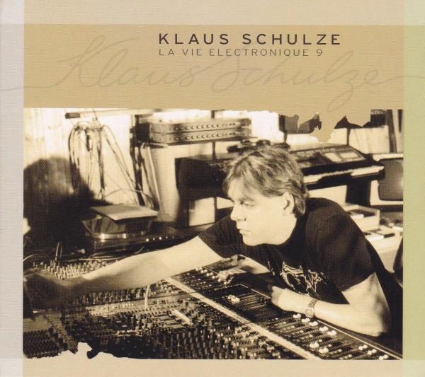 3 CD Klaus Schulze – La Vie Electronique 9 , originale, holograma